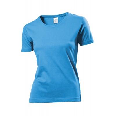 Stedman T-shirt damski błękitny