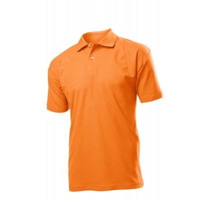 Stedman Polo męskie pomarańczowe