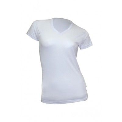 JHK T shirt damski V neck SUBLI 140