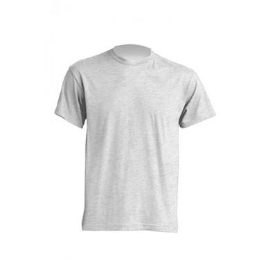 JHK T-shirt męski 140 szary jasny