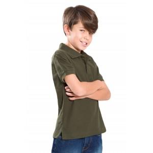 Polo dziecięce JHK PKID210 bez nadruku