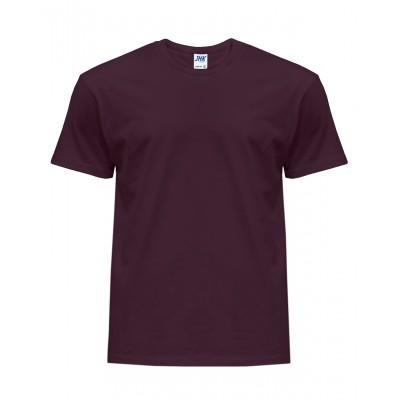 Koszulka męska burgundowa