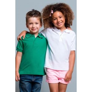 JHK polo dziecięce z krótkim rękawem PKID210