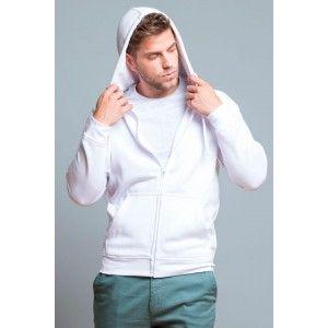 JHK bluza hooded z kapturem zasuwana SWUAHOOD