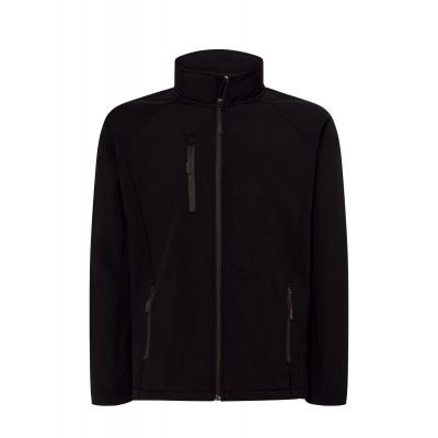 Softshell kurtka czarna