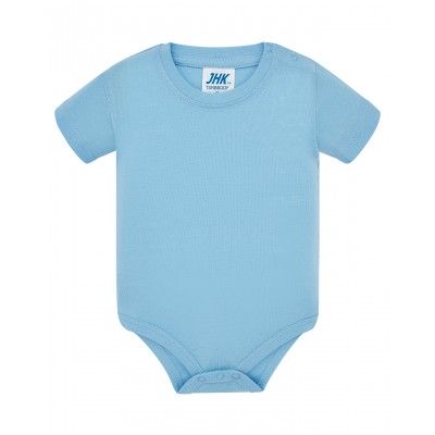 BODY dziecięce krótki rękaw błękitne