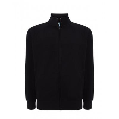 Bluza męska FULL ZIP czarna