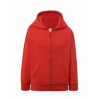 JHK Bluza Hooded dziecięca czerwona