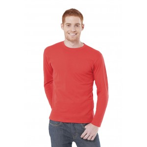 Koszulka męska z długim rękawem bez nadruku JHK 150