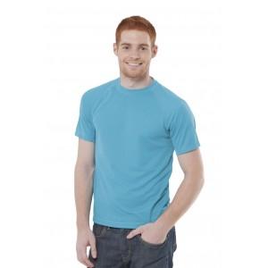 Koszulka sportowa oddychająca bez nadruku JHK 130
